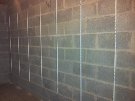 Réalisez un rangement simple dans votre garage  Reussir