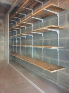 R alisez un rangement simple dans votre garage reussir ses travaux - Systeme de rangement pour garage ...