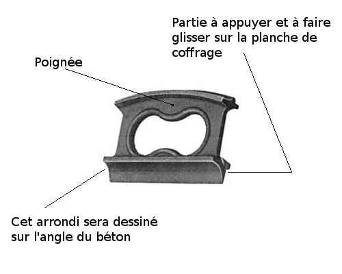 Comment r aliser la longrine et les poteaux d un portail - Comment faire un seuil de porte en beton ...