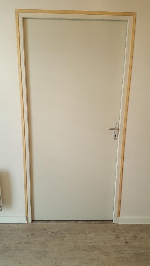 cr ez une ouverture avec porte dans une cloison en placo reussir ses travaux. Black Bedroom Furniture Sets. Home Design Ideas