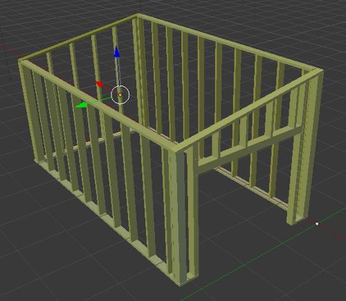d couvrez les bases de l ossature bois partie 3 reussir ses travaux. Black Bedroom Furniture Sets. Home Design Ideas