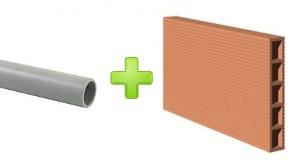 comment encastrer une vacuation de lavabo dans un mur en briques reussir ses travaux. Black Bedroom Furniture Sets. Home Design Ideas