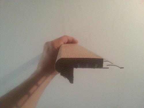 Poser un carrelage sur un escalier en b ton partie 1 2 for Nez de marche exterieur carrelage