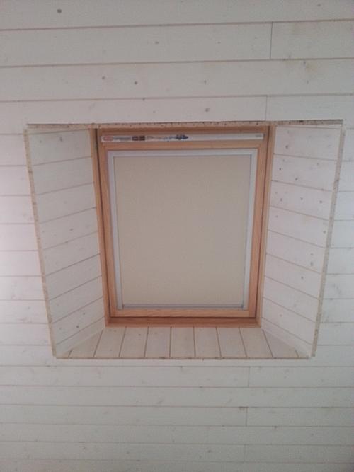 Encadrement d 39 une fen tre de toit ne commettez pas cette for Entourage fenetre exterieur